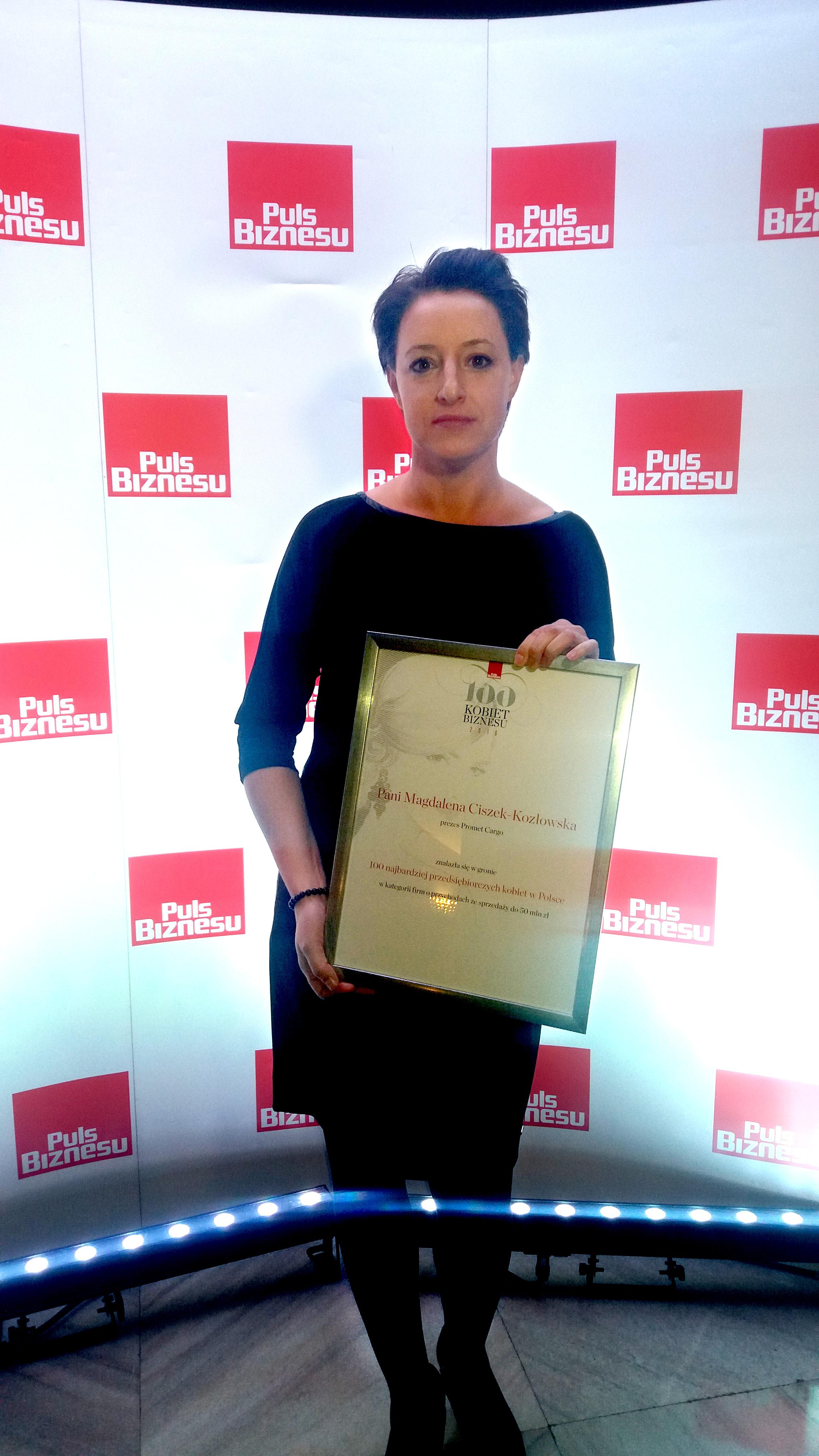 Magdalena Ciszek-Kozłowska - PDG - Promet Cargo Sp. zo.o.