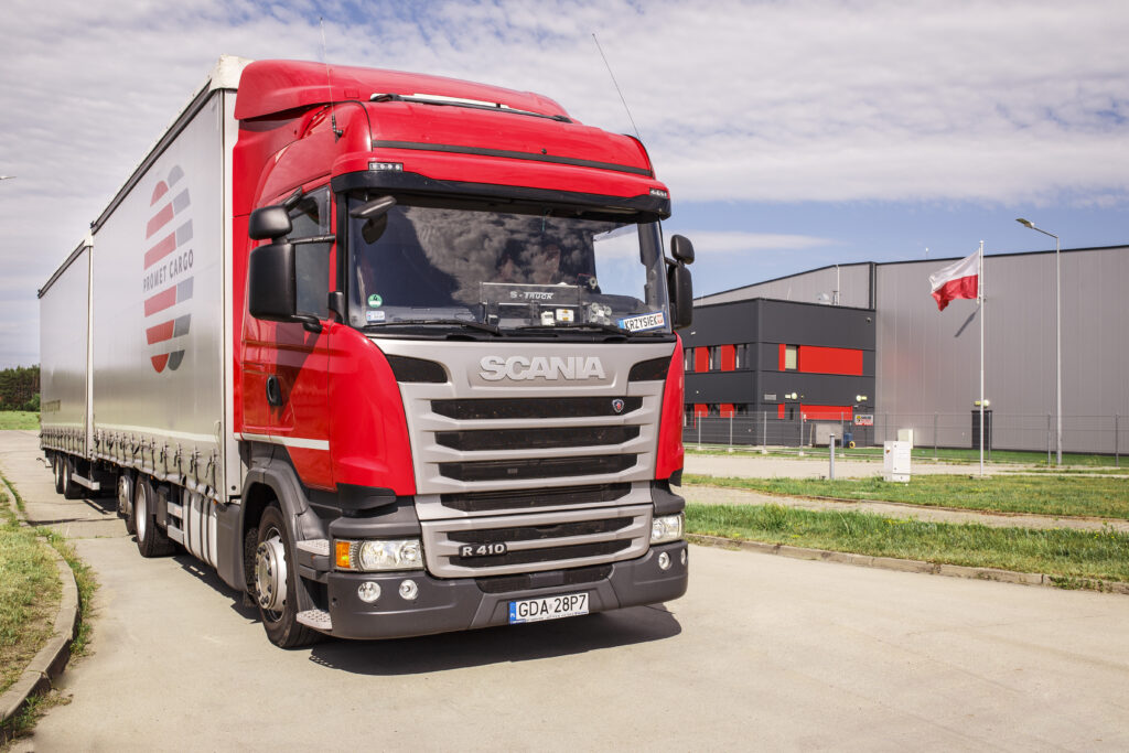 Promet Cargo Sp. z o.o. - TRANSPORT AND FORWARDING - Scania